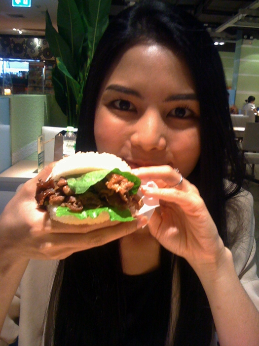 Stickt rice Burger
