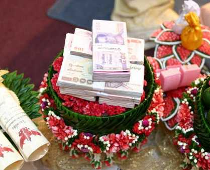 Thai Marriage At Large And Definitely The Ceremony Of Traditional Wedding Interlinked With An Ancient Tradition Called Sinsod ส นสอด